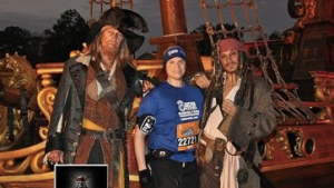 Captains Sparrow and Barbosa
