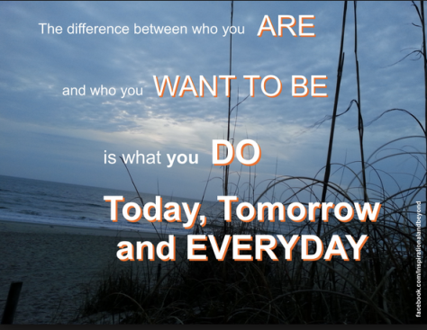What are you willing to do TODAY to claim your tomorrow?